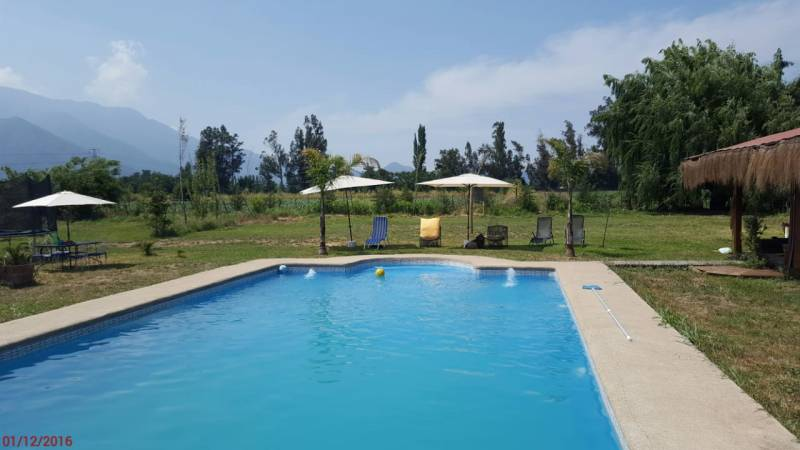 Linda casa emplazada en 1,5 hectareas sector El Arrozal Gran