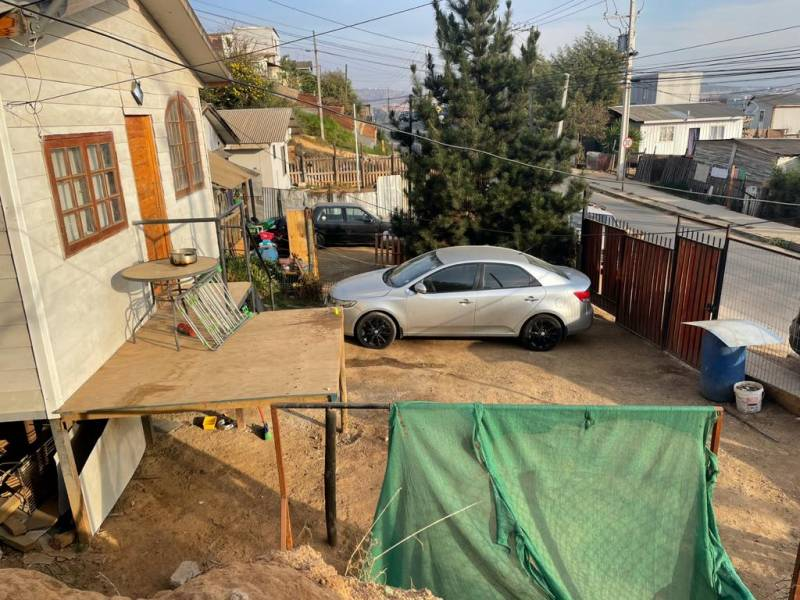 Terreno con 2 Casas en Barrio Sur Villa Alemana