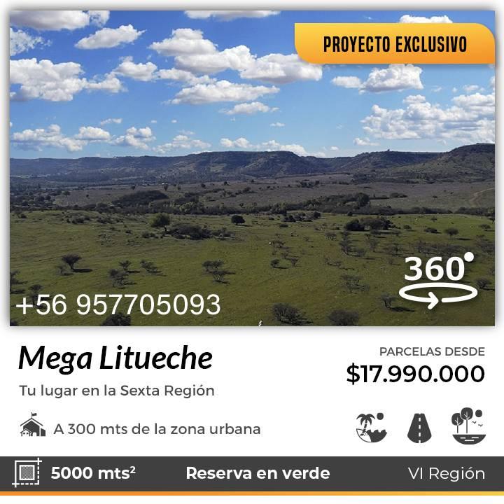 MEGA LITUECHE | MEJOR PROYECTO DE LITUECHE PARCELAS LITUECHE