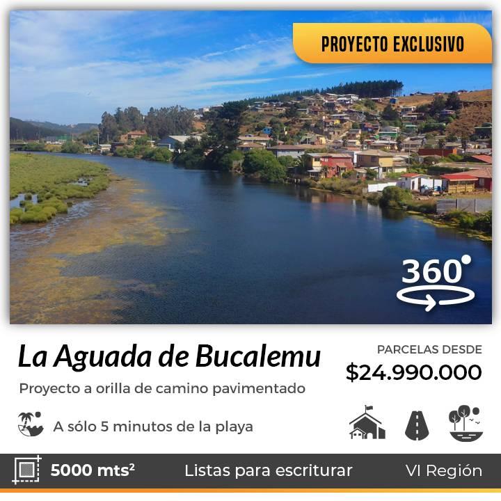 BUCALEMU | EXCLUSIVAS PARCELAS CON VISTA AL MAR DE BUCALEMU