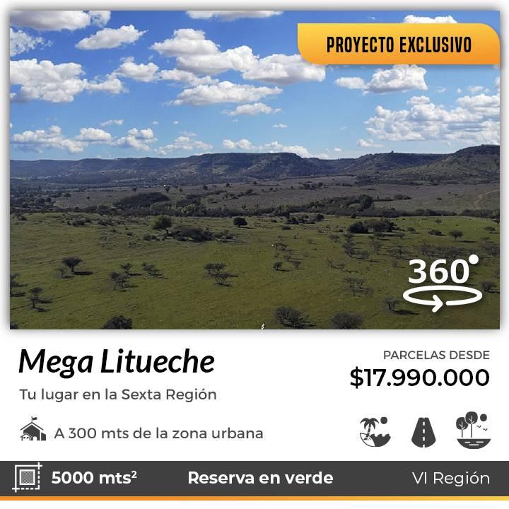 LITUECHE | VENTA DE PARCELAS EN PROYECTO MEGA LITUECHE