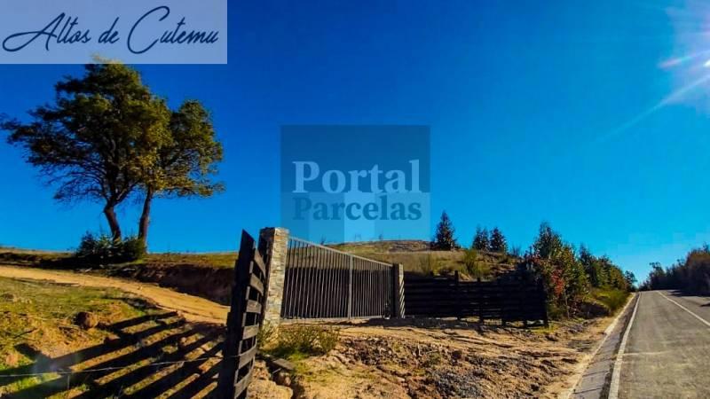 ALTOS DE CUTEMU | VENTA DE PARCELAS 25 MIN DE LAGO Y PLAYAS