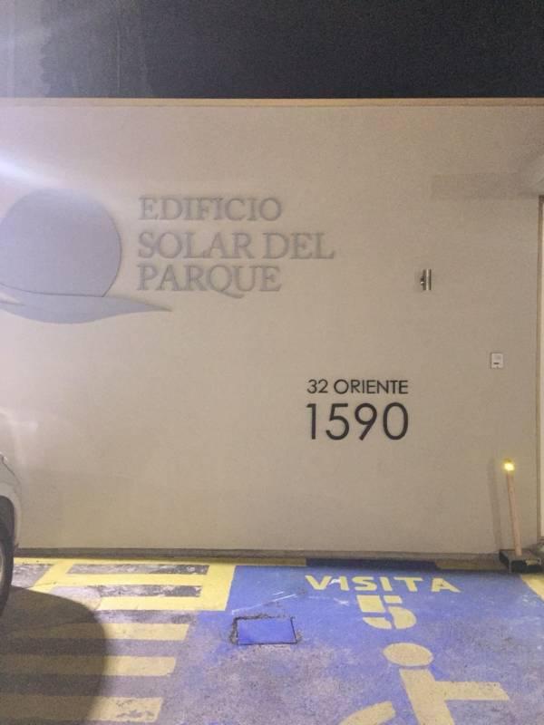 ARRIENDO DEPARTAMENTO EDIFICIO SOLAR DEL PARQUE