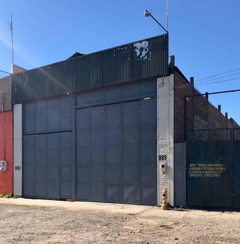 GALPÓN COMERCIAL EN AVENIDA ALTAMENTE TRANSITADA