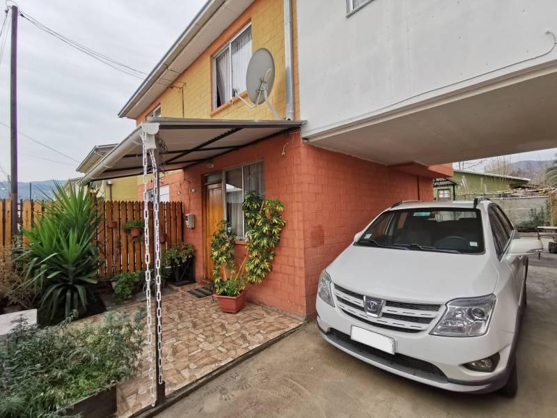 Casa 2 pisos ampliada Villa Calicanto, Machali