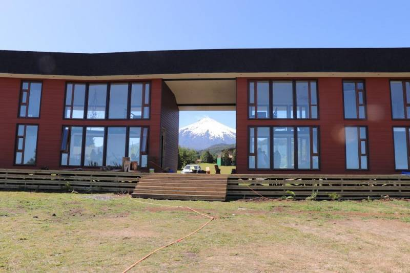 ESPECTACULAR CASA EN LOTEO COUNTRY CLUB PUCON