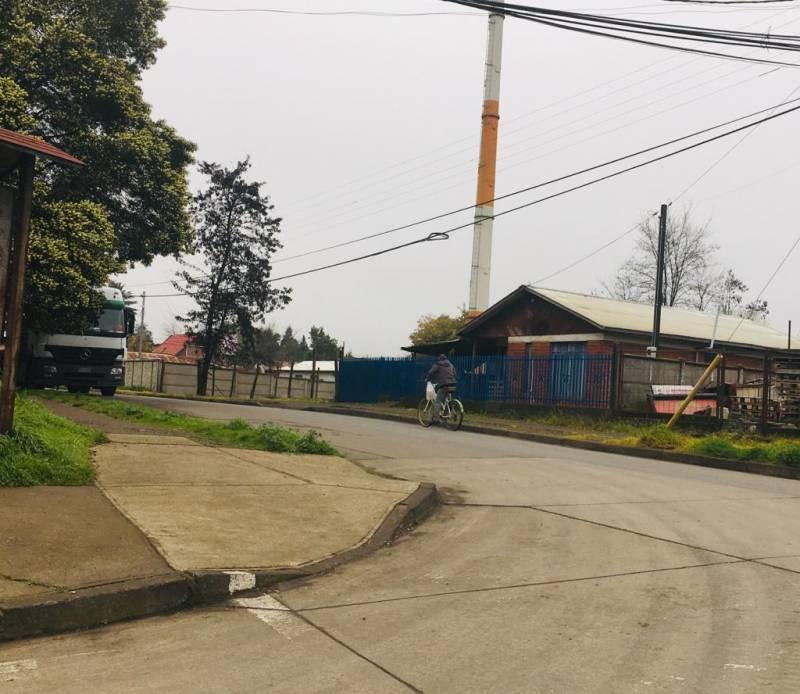 Se vende sitio Industrial en el centro de Bulnes