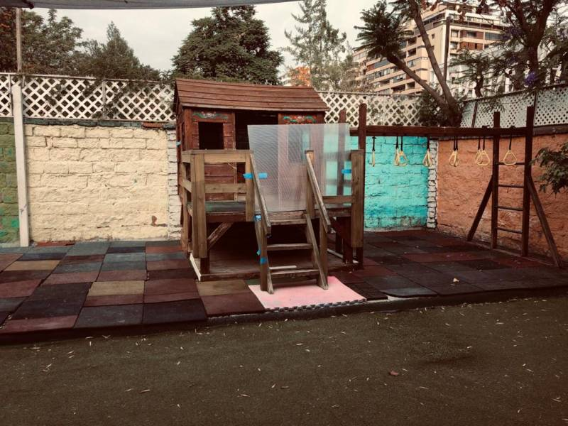 Casa Jardín Infantil cercano a metro Manquehue