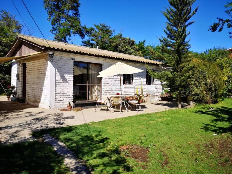Vendo casa con amplio patio Poblacion Lenox, Limache