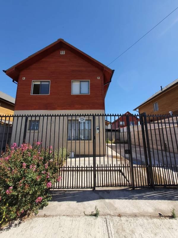 Arrendamos excelente casa en Villa don Sebastián de Rauquén