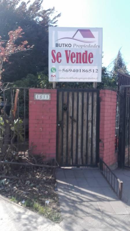 SE VENDE CASA ESQUINA EN  AV RINCONADA, MAIPU.