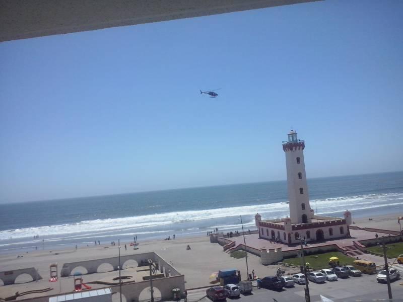 Piso 7º Acogedor Dpto. Vista al Mar El Faro La Serena