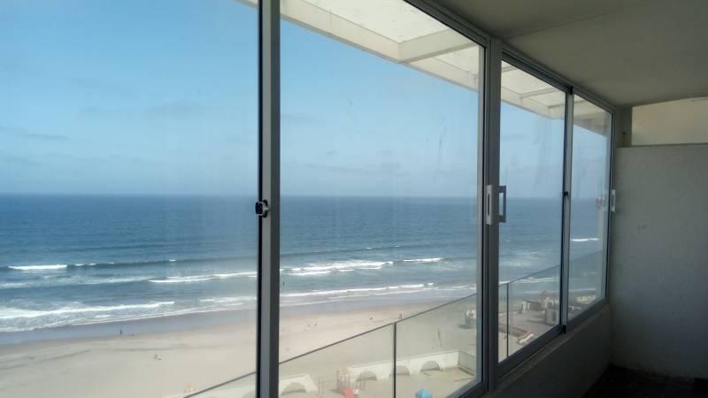 Dpto piso 11 frente al mar en La Serena