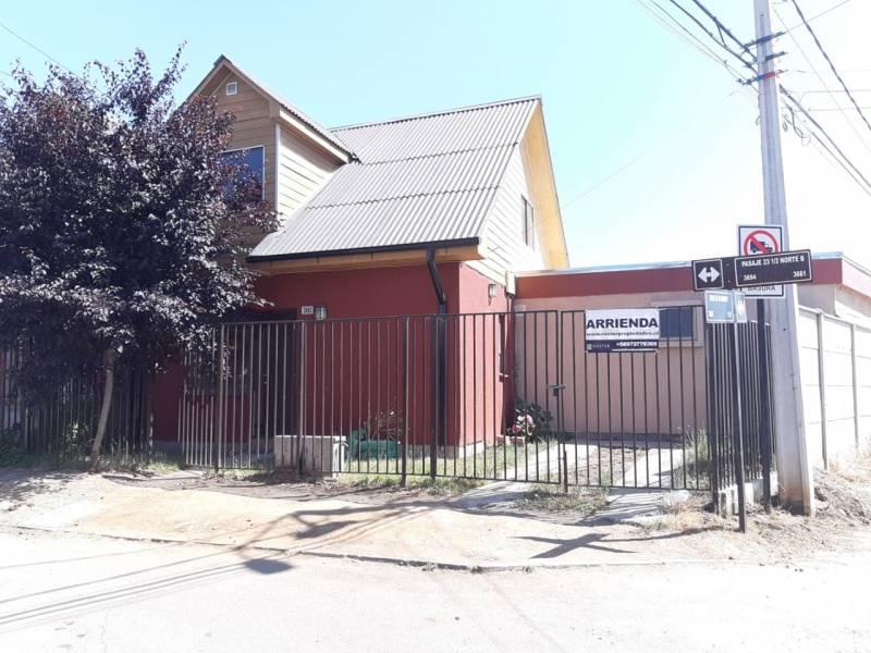 ARRIENDO CASA EN PARQUE BICENTENARIO TALCA
