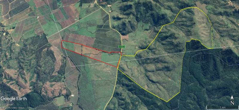 Excelente campo para paltos y cítricos cerro y plan en Lolol