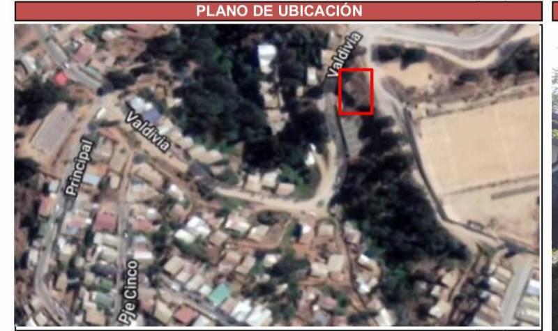 Se vende terreno urbanizado en Chorrillos Viña del Mar