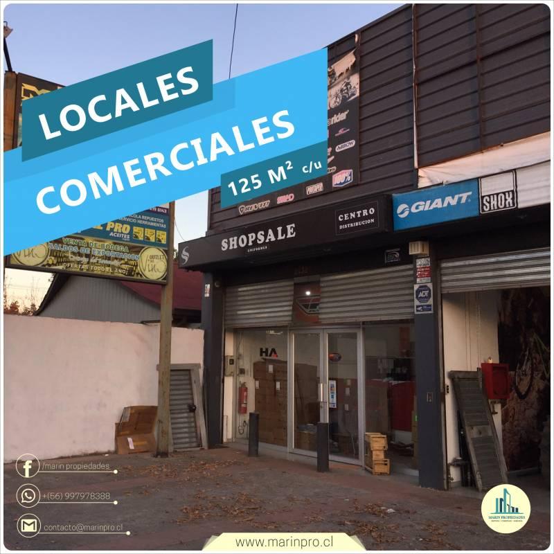 LOCALES COMERCIALES 125 M2 C/U