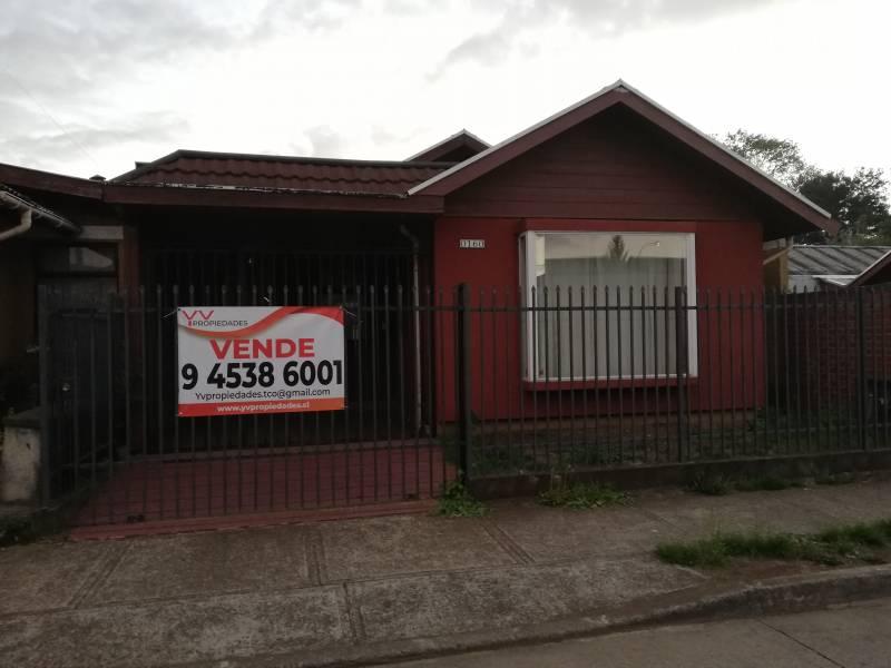 Hermosa casa Barrio Cautín