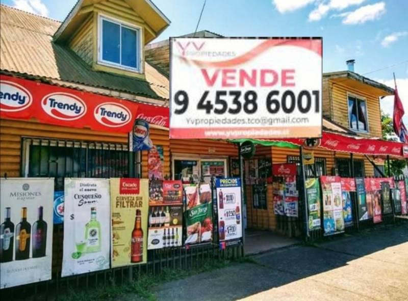 OPORTUNIDAD CASA CON MINIMARKET FUNCIONANDO VILCÚN