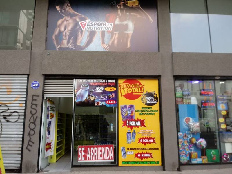LOCAL COMERCIAL SANTIAGO PASOS DEL PALACIO MONEDA