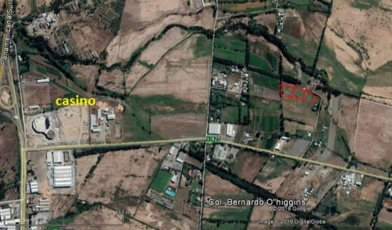 OPORTUNIDAD A 3 MINUTOS DEL CASINO CHILLAN PARCELAS 5000 MTS