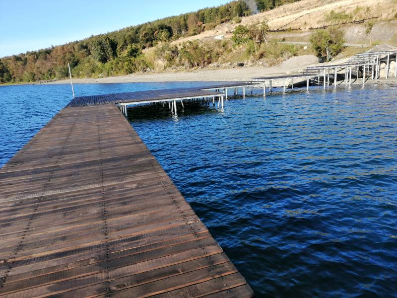 Lago Ranco, Condominio Puerto Guarda. Sitio 49. Casa nueva.