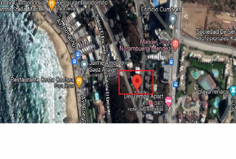 Inversionista/Terreno 400m2/3Cabañas/Viña del Mar