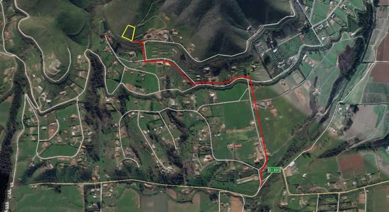 TERRENO DE 5.000 M2, HERMOSA VISTA AL VALLE,  FUNDO LORETO