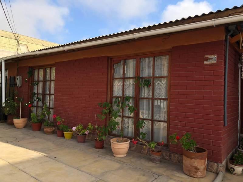 Casa un piso, 3 dor/1 baño, const. 63 m2/ 190 m2 t, V. Indio