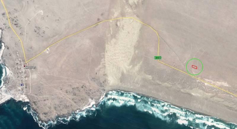 TERRENO EN PUNTA DE CHOROS 5.700 M2 CON AGUA POTABLE.