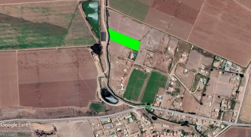 PARCELA DE 5.000 M2, FACTIBILIDAD AGUAY LUZ, EL ROMERO