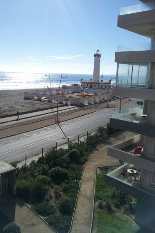 Departamento frente al mar, 1Dor/1 Baño, Cond. El Faro