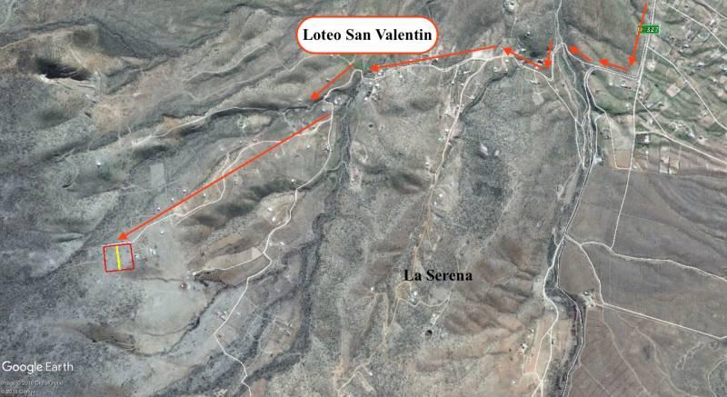 TERRENO VALLE DEL ELQUI, 5.000 M2 SECTOR SAN VALENTIN