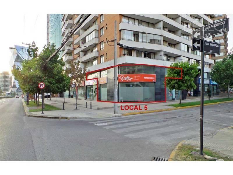 ARRIENDO COMERCIAL 214 M2. AV. APOQUINDO