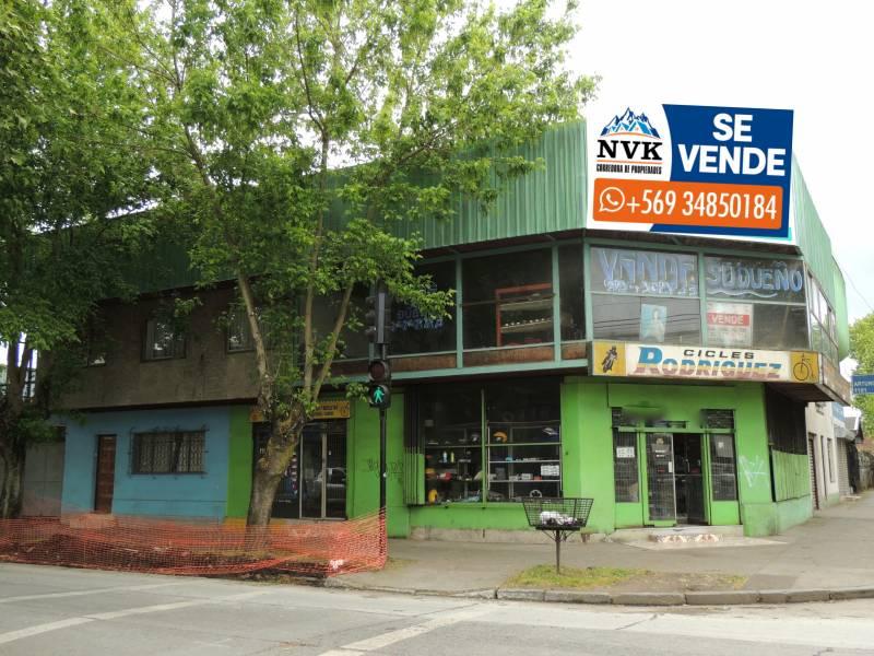LOCAL COMERCIAL CON CASA EN CENTRO DE CHILLAN