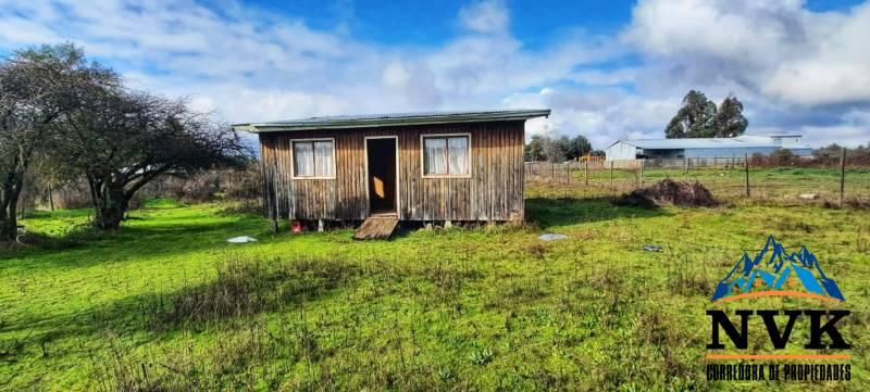 Parcela con cabaña y excelente ubicación en venta