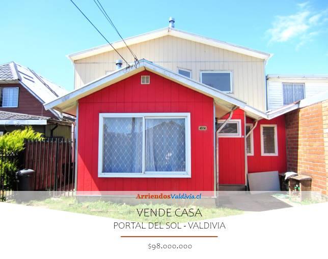 VENDO CASA CON CABAÑA EN VALDIVIA