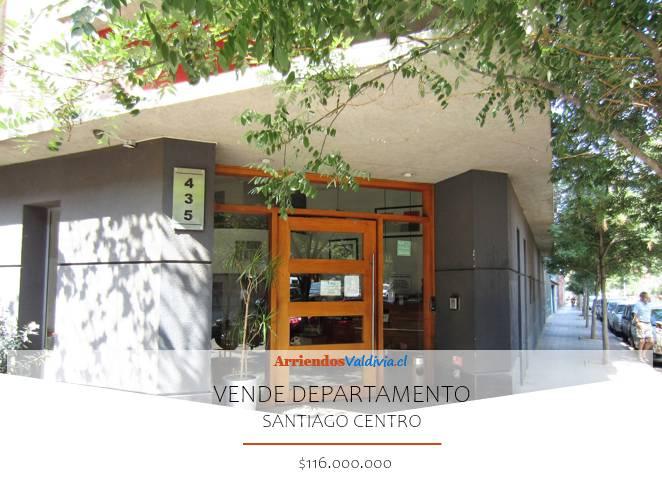 VENDO DEPARTAMENTO 3D/1B/1E EN SANTIAGO CENTRO