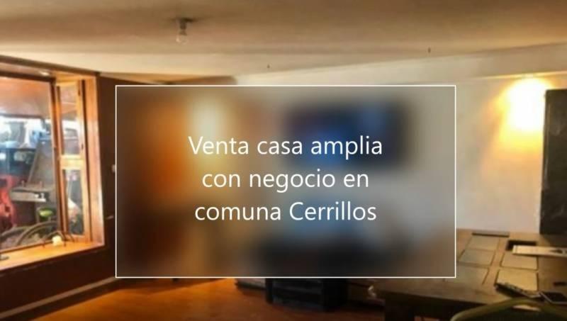 VENTA CASA  CERCANA MALL PLAZA OESTE EN COMUNA CERRILLOS