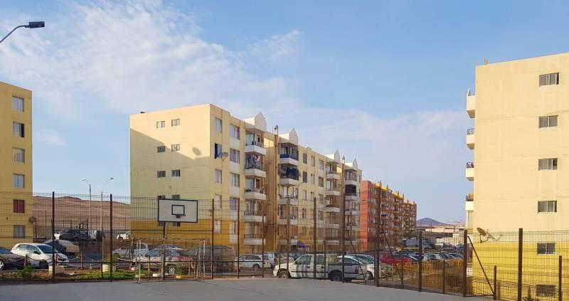 Venta departamento  Lomas de Miramar, zona seguridad Arica