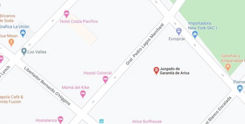 Venta terreno urbano 300 m2 en centro Arica