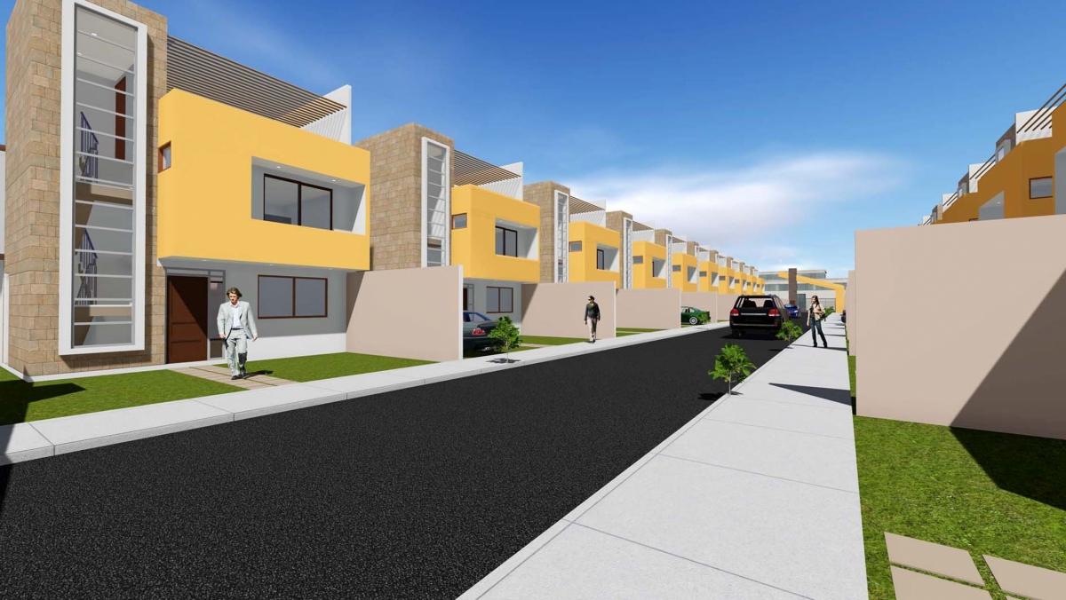 Venta casa tres pisos en condominio Arica