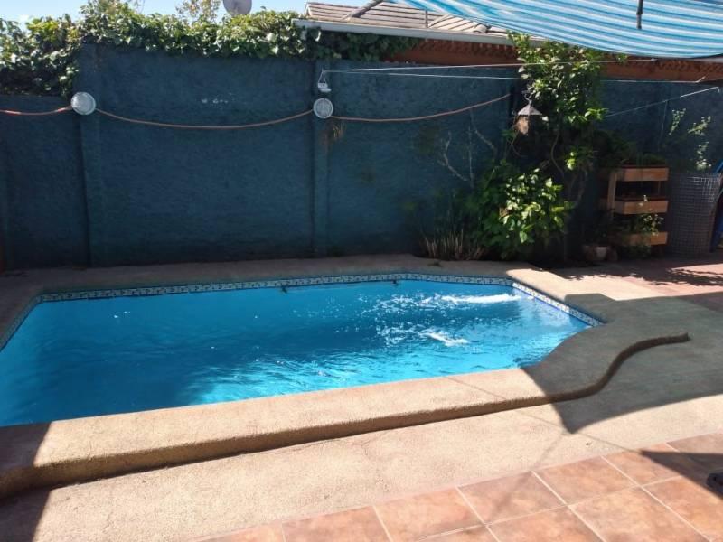Venta casa tres dormitorios dos baños y piscina  Puente Alto