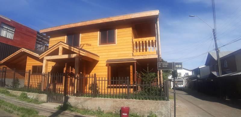 Hermosa casa nueva Los Copihues del Volcán Villarrica