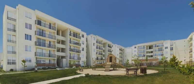 Departamento en condominio nuevo en sector Placilla,Peñuelas