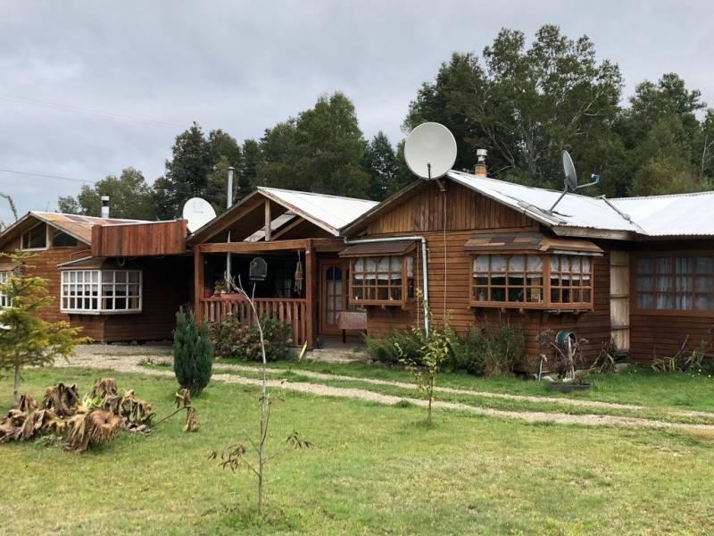 PARCELA CON  CASA Y CABAÑA, CAMINO VILLARRICA-FREIRE