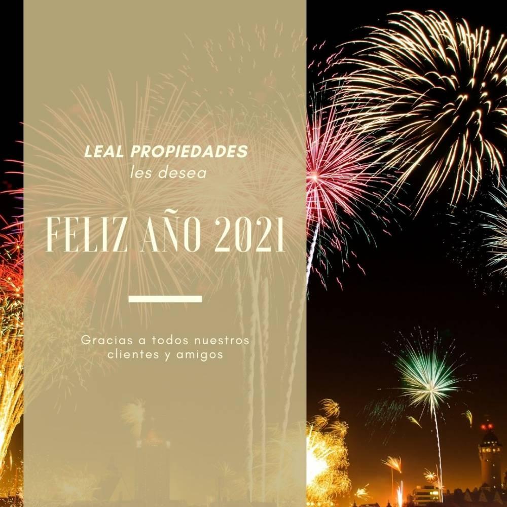 Feliz Año Nuevo para todos nuestros clientes. Gracias por su confianza