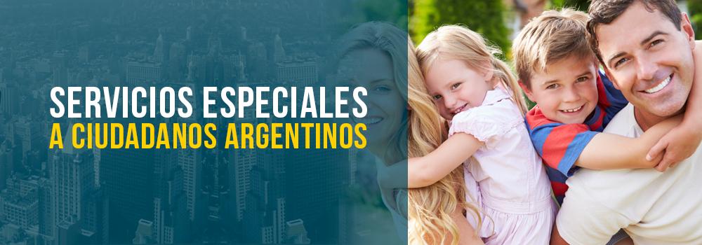 Servicios Especiales a Ciudadanos Argentinos