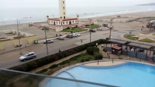 Dpto. 622 Semi-amoblado, año corrido frente al mar (El Faro)