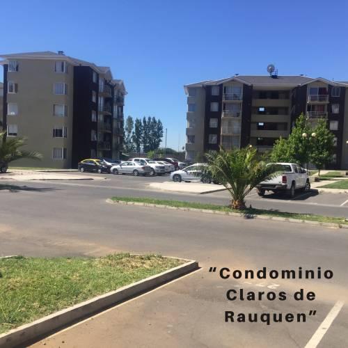 ARRIENDO DEPARTAMENTO, CONDOMINIO CLAROS DE RAUQUEN, Curicó.